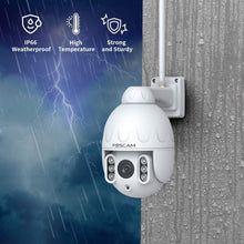 Load image into Gallery viewer, Foscam HT2 1080p Outdoor 2.4g/5gHz WiFi PTZ IP Camera, 4X Optical Zoom Pan Tilt Security Surveillance Speed Dome - Foscam