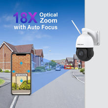 New arrival - Foscam SD2X 1080P Dual-band WiFi PTZ Outdoor Camera Detect and Record Audio with Built-in Microphone - Foscam