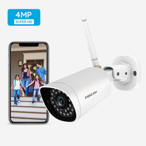Foscam G4 Full HD 4MP 2K WiFi Outdoor Security Camera - Foscam