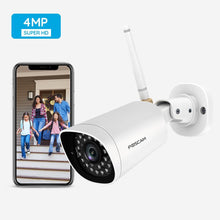 Foscam Refurbished  G4 Full HD 4MP 2K WiFi Outdoor Security Camera - Foscam