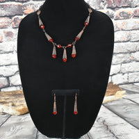 Copper wire jewelry set - Bujog