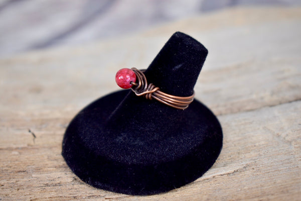 Copper wire ring - Bujog
