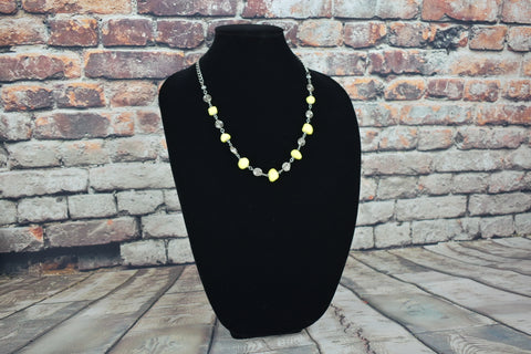 Handmade necklace with gemstones - Bujog