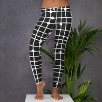 Leggings Black and White - Bujog