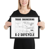 Truax Engineering Framed matte paper poster - Bujog