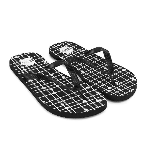 Flip-Flops Black and white - Bujog