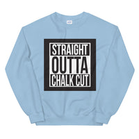 Chalk Cut Unisex Sweatshirt - Bujog
