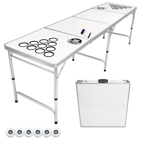 Dry Erase Portable Beer Pong Table