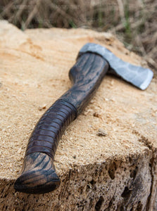 Ancient Smithy axe Hand forged Nordic axe