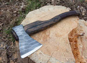 Ancient Smithy axe without my engraving / without wooden box Hand forged Nordic axe