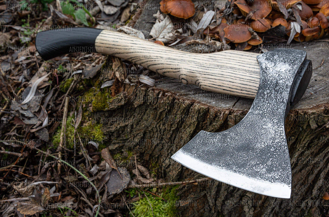 ancientsmithy axe Camping Hand Forged Axe