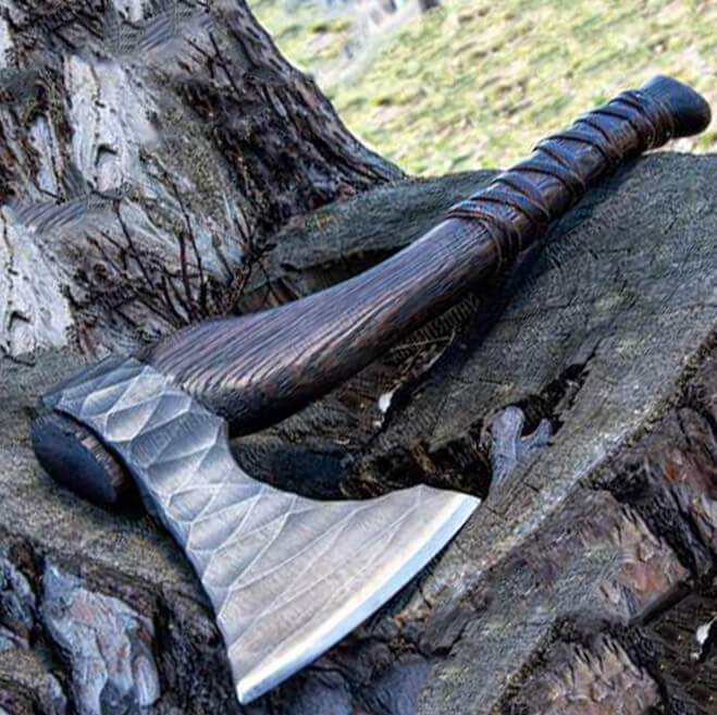 "ancientsmithy axe Hand Forged Axe ""Sterk Vorley"""