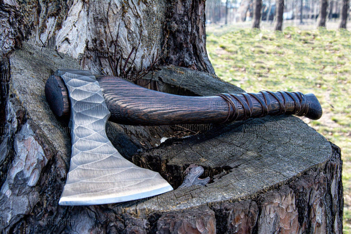 ancientsmithy axe without my text / without box Hand Forged Axe