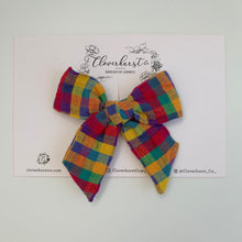Jewel Toned Seersucker Plaid