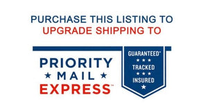 1. Expedite Shipping - OVERNIGHT USPS Priority Express
