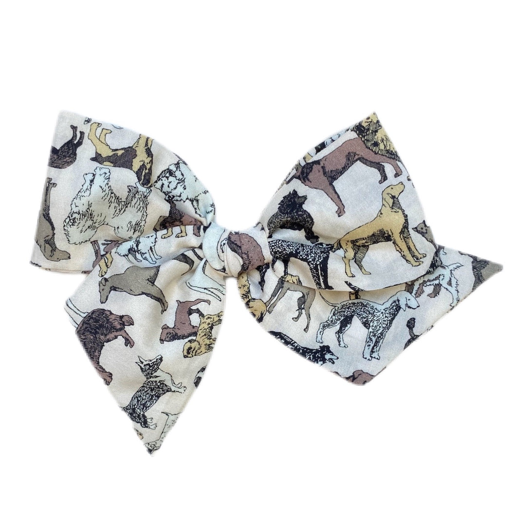 Liberty of London Cream Lawn Dogs