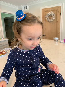 Clips - Mini Patriotic Hat