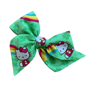 Hello Kitty Rainbows and Clovers - Large Pinwheel