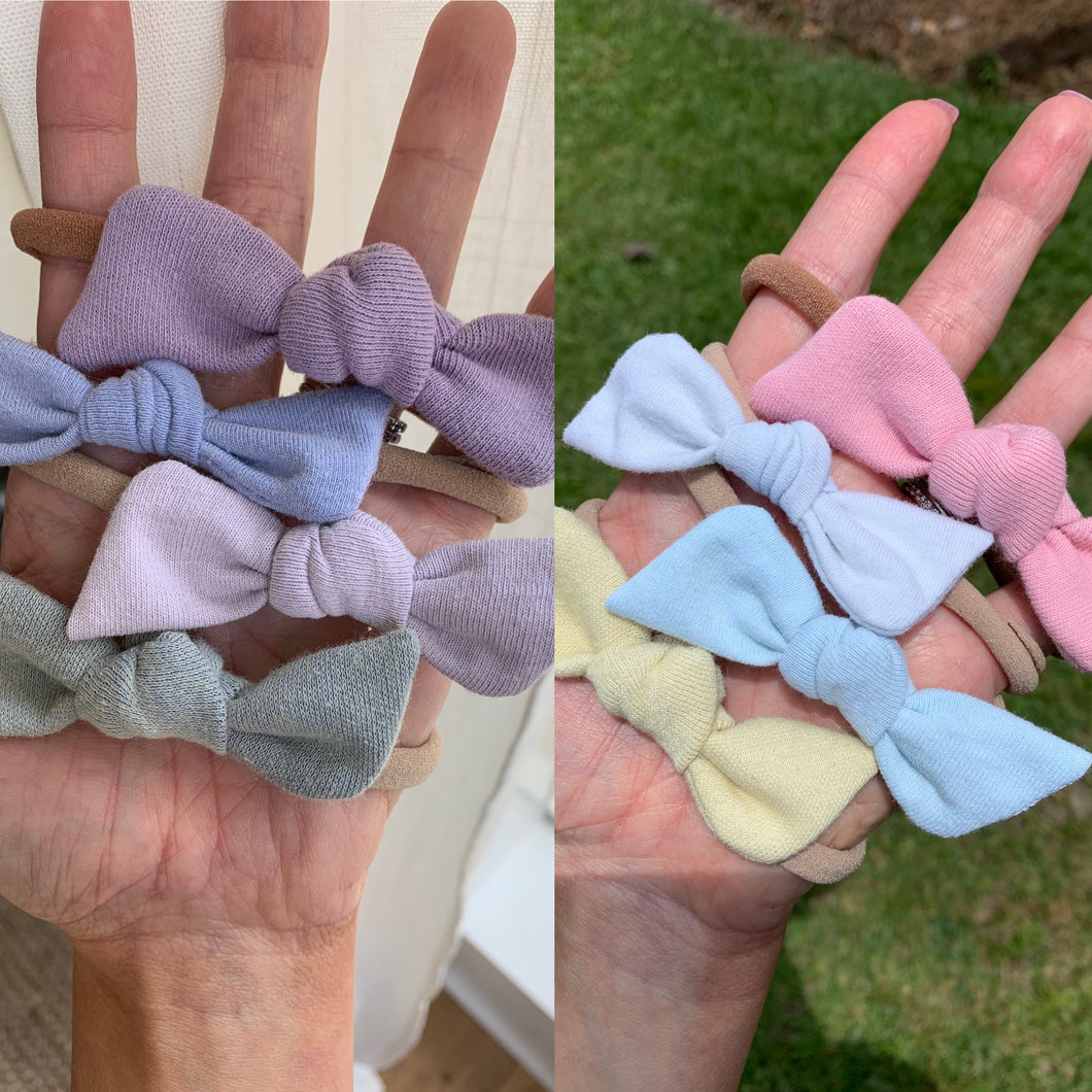 Color Chaning KNOT bows on NYLON