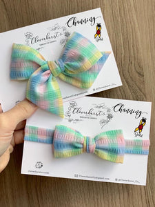 The Channing Bowtie (adjustable neck tie) and Bow