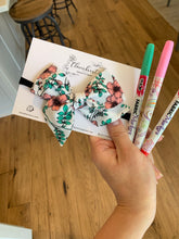 Floral Coloring Book Bow