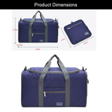 Dimensions of the Folding Travel Bag