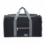 Foldable Duffel Bag in the colour Black