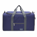 Foldable Duffel Bag in the colour Blue