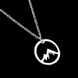 Mountain Inspired Necklace Pendant