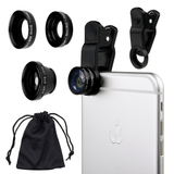 Portable Phone Lenses with carry bag