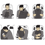 Instructions for the Travel Pillow