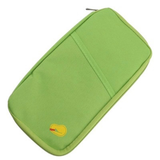 Travel Ticket Organizer in the colour Green