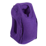 Ultimate Travel Pillow in the colour Purple
