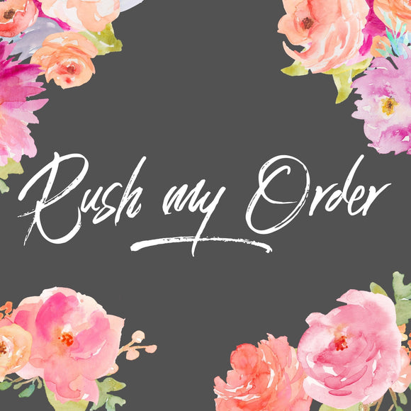 Rush My Order Large