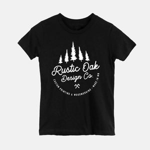 Rustic Oak Design Co. Tree Graphic Tee