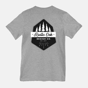 Rustic Oak Design Co. 2-Sided Graphic Tee
