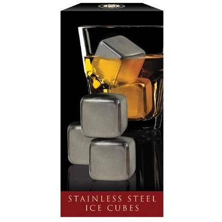 Stainless Steel Cubes - Set of 4