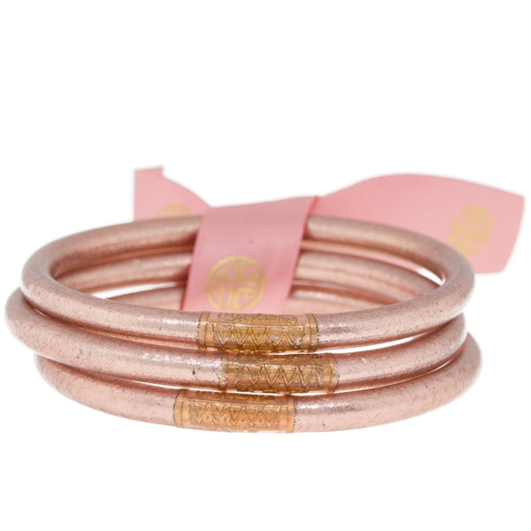 ROSE GOLD ALL WEATHER BANGLES® (AWB®) - SERENITY PRAYER