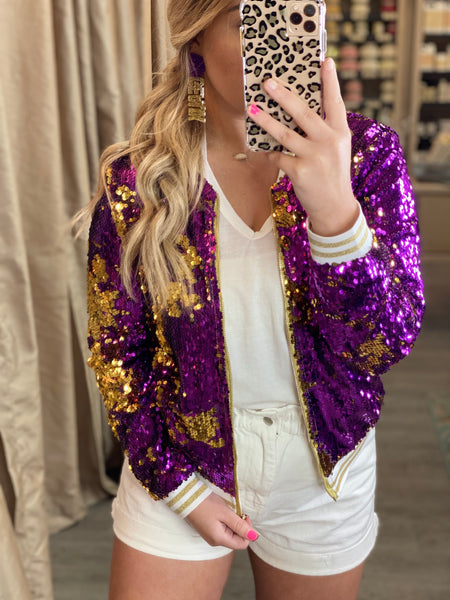 Tiger Sequin Jacket