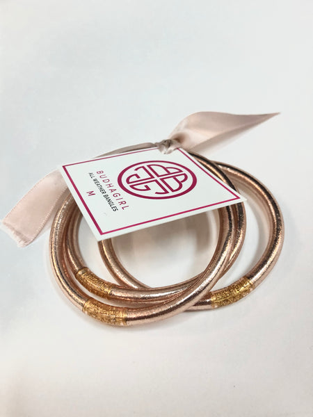 CHAMPAGNE ALL WEATHER BANGLES® (AWB®) - SERENITY PRAYER