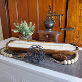 Himalayan Wooden Candle Tray (Medium)