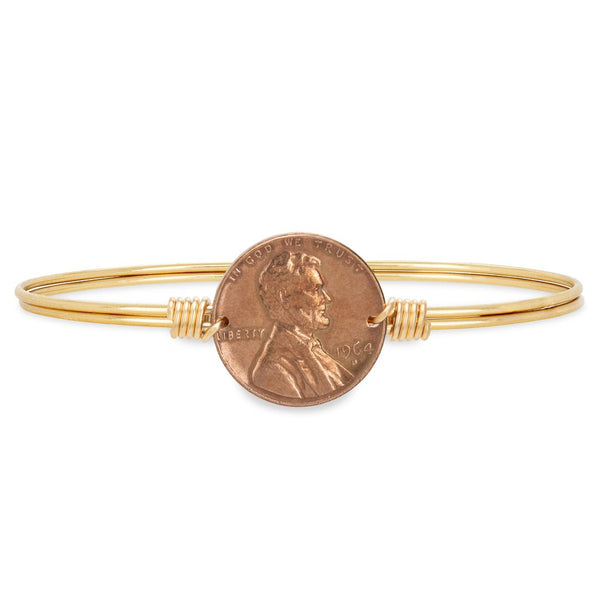 Heavenly Pennies Bangle Bracelet