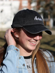 Classic Avian Vintage Baseball Cap Black #color_vintage-black