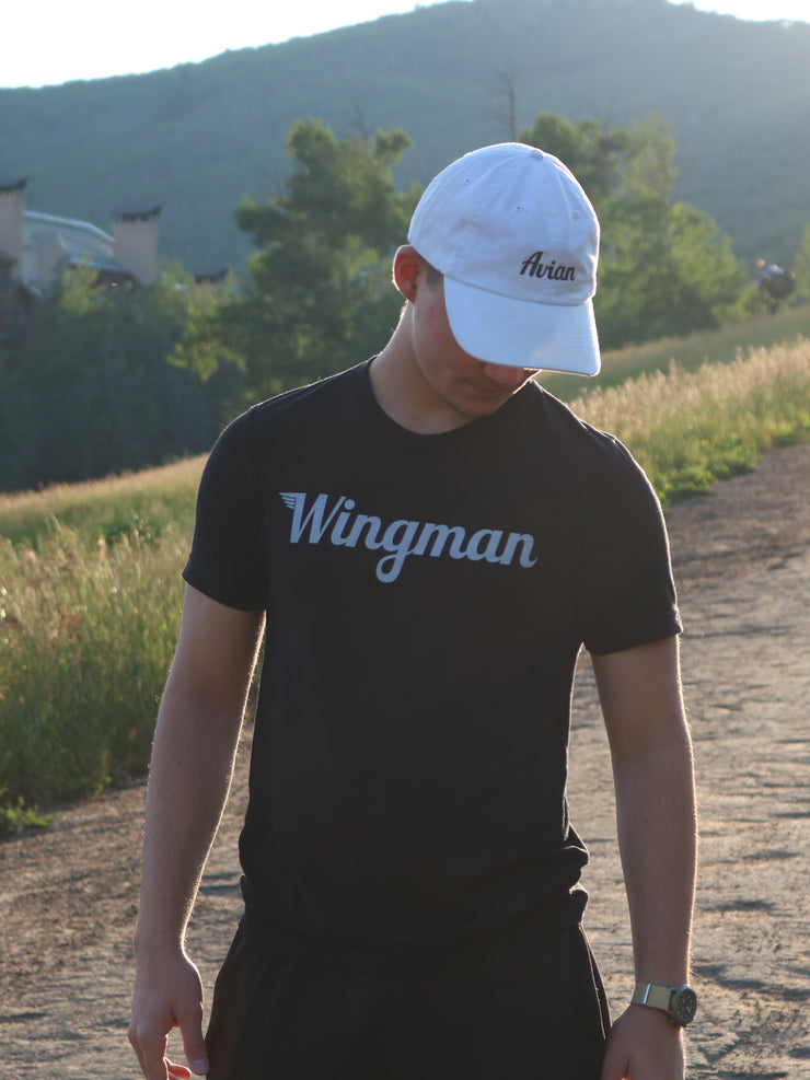 Wingman Black Tee Sun