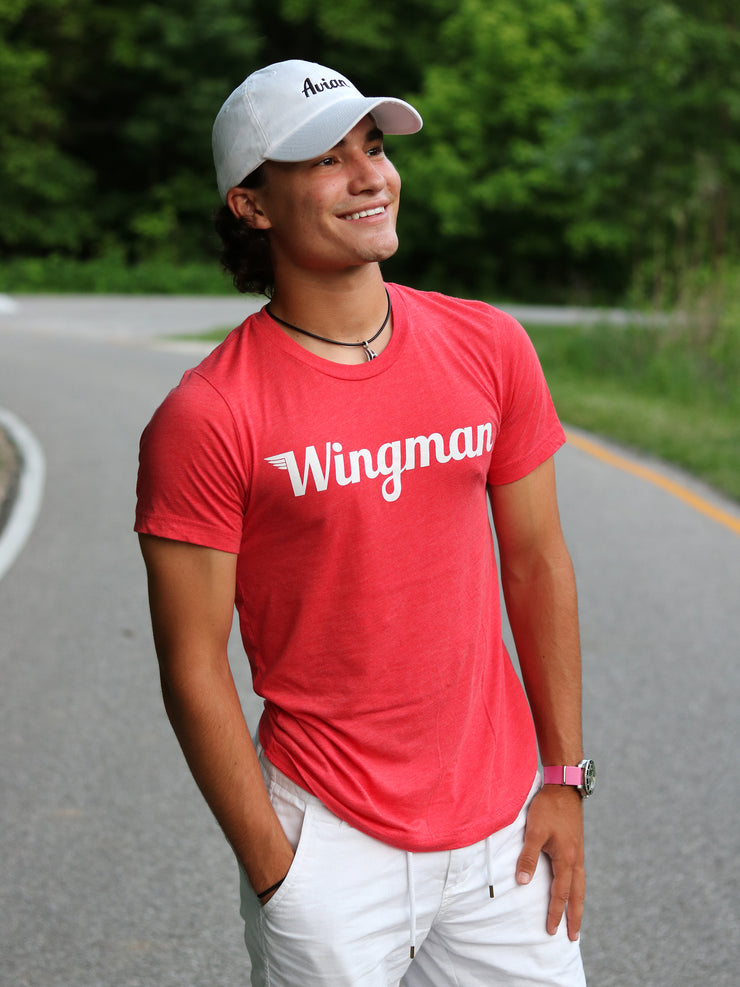 Wingman Tee Red