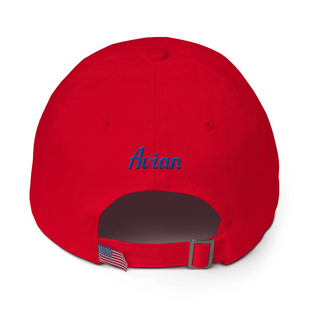 Special Edition Patriot Wingman Baseball Cap - Red/White/Blue