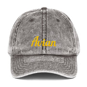 Classic Avian Vintage Baseball Cap - Avian Apparel #color_vintage-charcoal