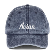 Classic Avian Vintage Baseball Cap - Avian Apparel #color_vintage-navy