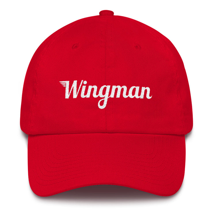 Special Edition Patriot Wingman Baseball Cap - Red/White/Blue - Avian Apparel