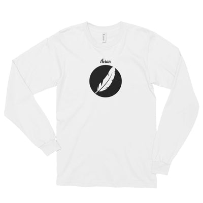 Inverted Feather Logo Shirt (Unisex) - Avian Apparel #color_white